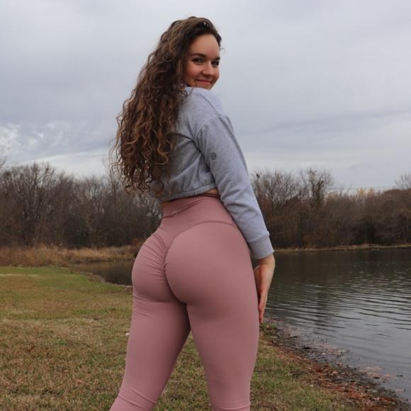 Peachee Collection Scrunch Butt Workout Leggings